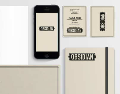 OBSIDIAN corporate identity