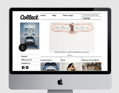 Collect Magazine Website