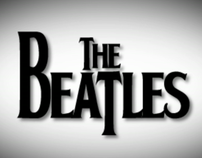 A short beatles kinetic typography