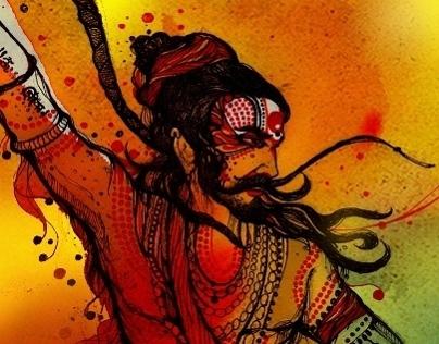 colors inside , I & India