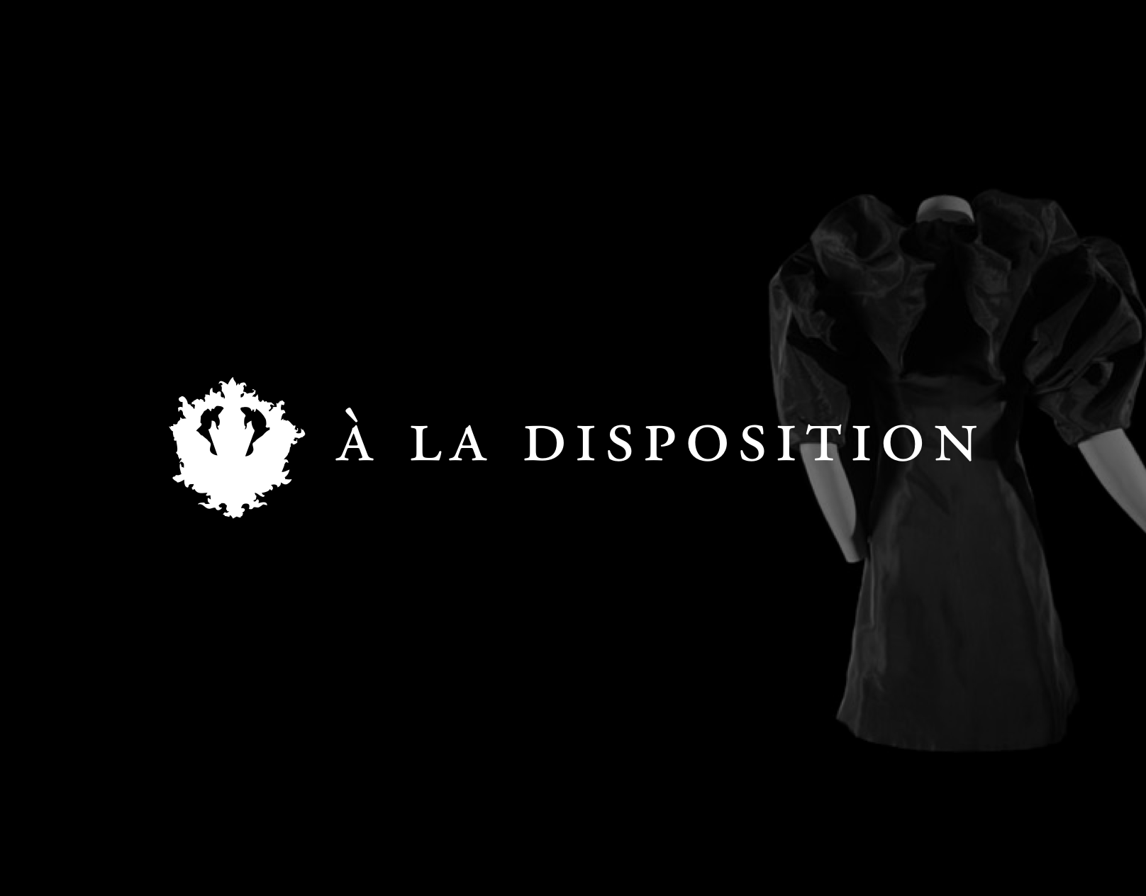 à la disposition