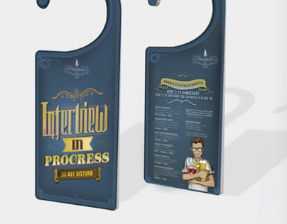 Twankey Bar Door Hangers