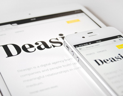 Deasign.com responsive website