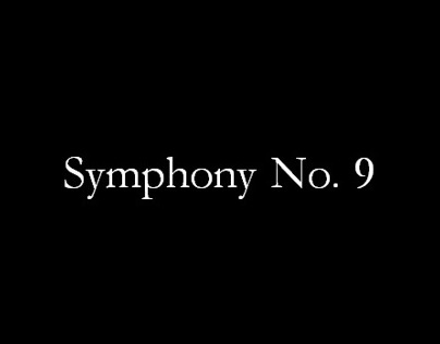 Symphony No. 9 (Time Project)