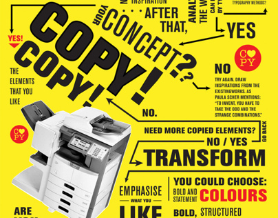 Copy with Love: Lets Copy Designers