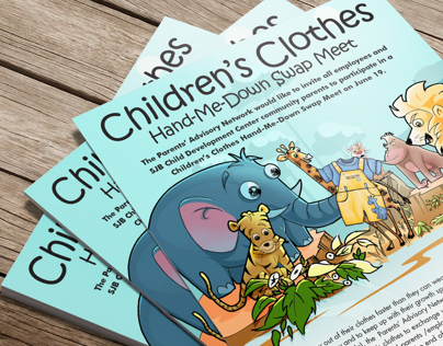 Childrens Clothes Flyer