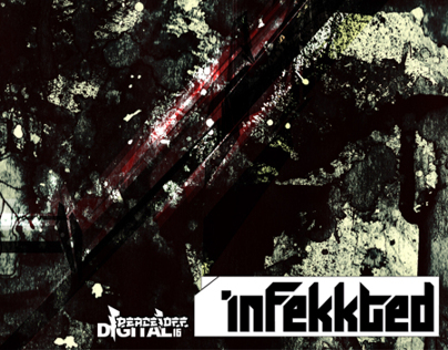 Wv+CCY, Infekkted. Logo DesIgn/ CD Cover