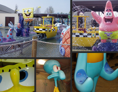 Movie Park - Splash Battle - Sponge Bob