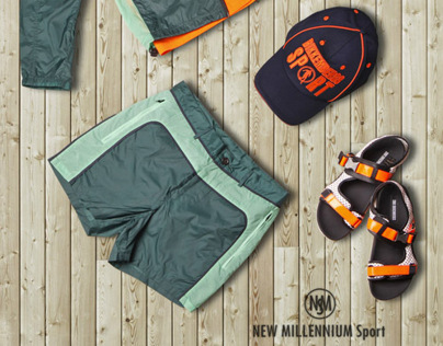 lookbook for New Millennium Sport