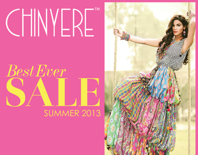 Chinyere Best Ever Sale - Summer '13 Campaign