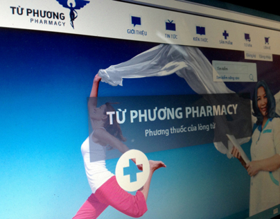 Tu Phuong Pharmacy's official website