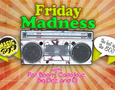 Magic 89.9 Friday Madness Promo (2012)