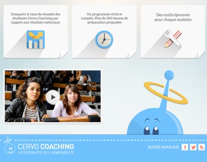 Cervo Coaching - Web Design