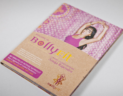 BollyFit DVD Case