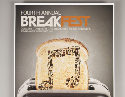 BreakFest at St. Andrews 4th Annual Poster