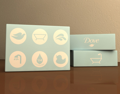 Dove Beauty Cream Bar Packaging Concept