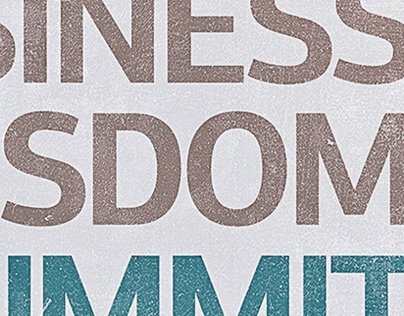 Business Wisdom Summit Poster