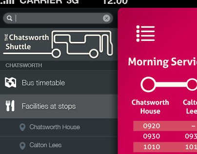 Chatsworth House App Concept