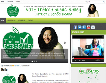 Byers-Bailey for CMS School Board