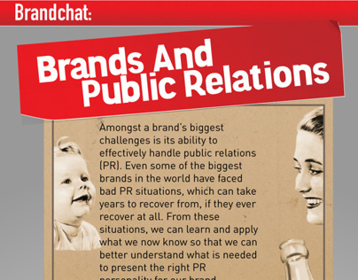 Infographic - Brands And Public Relations