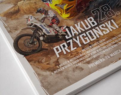 Birthday Poster for Red Bull Athlete - J. Przygoński