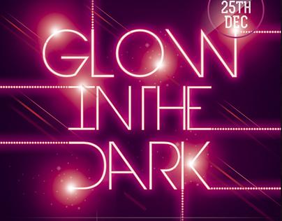 Glow in the Dark Party Flyer