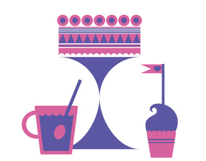 Coffee and Cake, illustrations