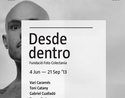 "Posters for ""Desde Dentro"" photo exhibition"