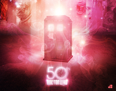 Doctor Who 50th Anniversary Posters (Unofficial)