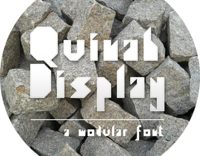 Quinah Display - Fonte Modular