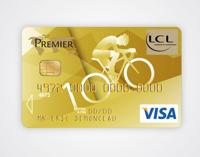 LCL Bank Tour De France 100e credit cards