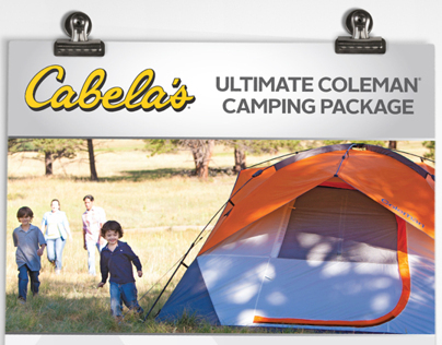 Cabela's® Ultimate Coleman® Camping Package