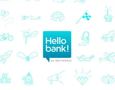 Hello Bank | Illustrations