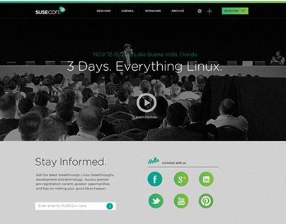 SUSEcon Event Site