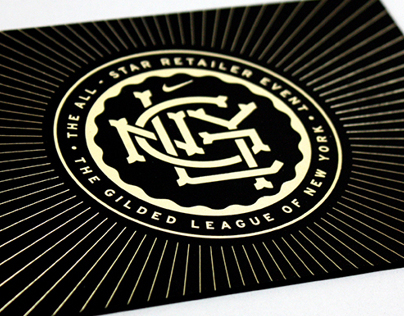 2013 Nike MLB All-Star Retailer Event Invitation