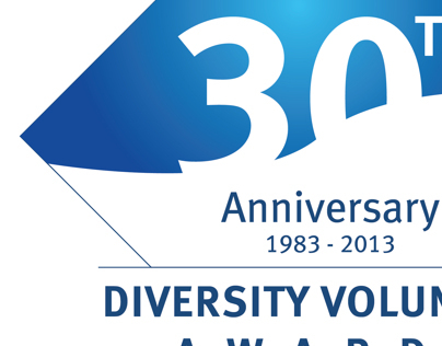 Diversity Volunteer Awards 30th Anniversary Logo