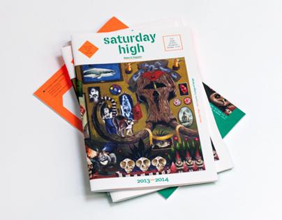 Saturday High Catalog 2013-14