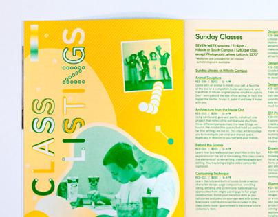 Art Center for Kids Catalog 2013-14