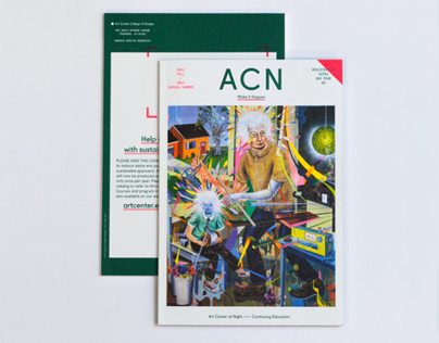 Art Center at Night Catalog 2012-13
