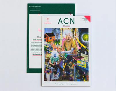 Art Center at Night Catalog 2012-13