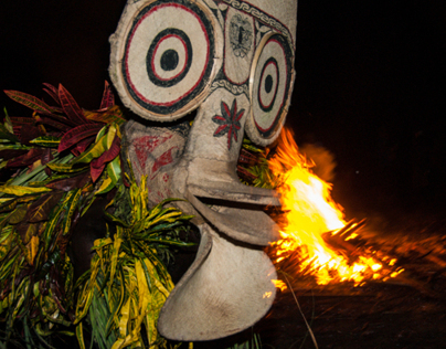 Mask Festival in Rabaul, PNG