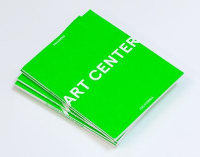 Art Center Mini Viewbook