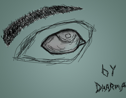 Eye [Using Photoshop Brush]