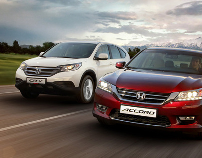 Honda Accord + CR-V