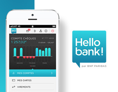 HELLO BANK! IPHONE APP