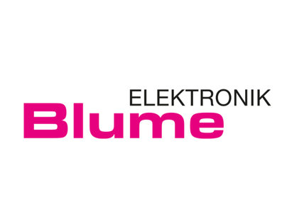 Corporate Design BLUME Elektronik