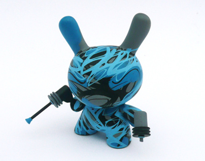 Abstract Alien - Custom 3 Dunny