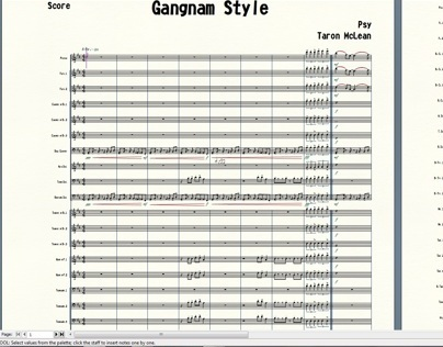 Psys Gangnam Style for Marching Band