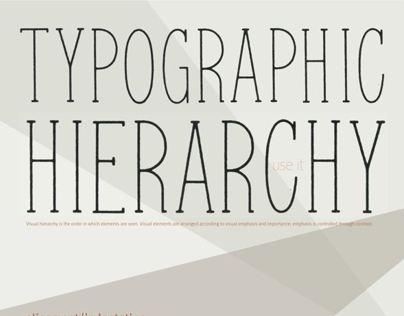 Hierarchy Poster
