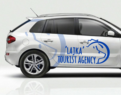'Lajka' Tourist Agency logo